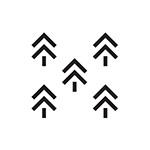 ikona zalesňování
